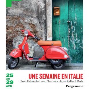 """""""Une semaine en Italie"""" à Fontainebleau du 25 au 29 avril 2017 organisée par le Théâtre Municipal de Fontainebleau"""