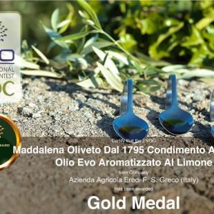 Oro al Premio EVO IOOC 2020